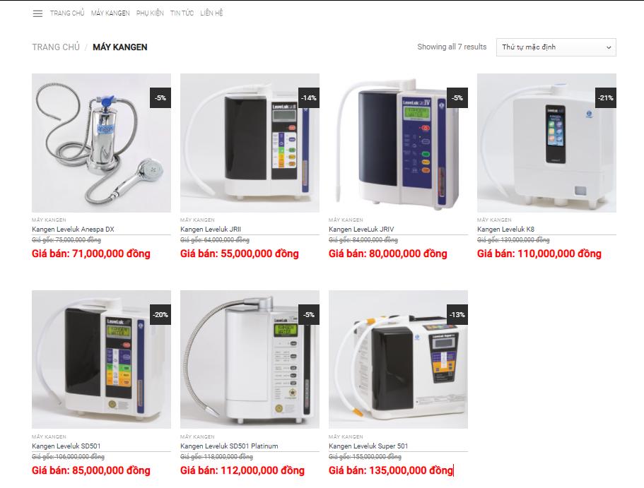 Mua máy lọc nước ion kiềm ở đâu rẻ và tốt nhất