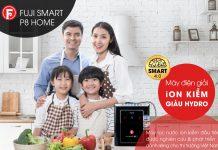 Máy lọc nước ion kiềm Fuji Smart P8 Home dành riêng cho thị trường Việt